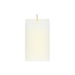 "Mega Candles - 2"" x 3"" Unscented Square Pillar Candle - Ivory"