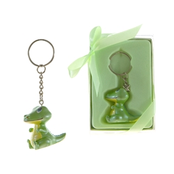 Mega Favors - Baby Crocodile Poly Resin Key Chain in Gift Box