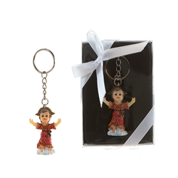 Mega Favors - El Nino Poly Resin Key Chain in Gift Box