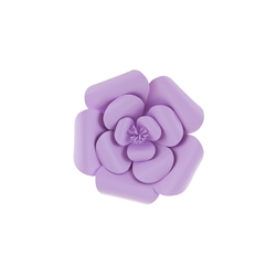 "Mega Crafts - 8"" Paper Craft Pedal Flower - Lavender"