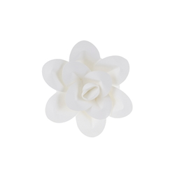 "Mega Crafts - 8"" Paper Craft Pedal Flower - White"