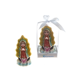 Mega Favors - Baby Guadalupe Statue Poly Resin in Gift Box