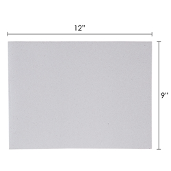 "Mega Crafts - 6 pcs 9"" x 12"" Metallic Glitter Adhesive EVA Foam Sheet - White"
