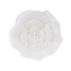 "Mega Crafts - 12"" Paper Craft Pedal Flower - White"