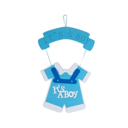 Mega Favors - Baby Clothing Party Fabric Decor - Blue