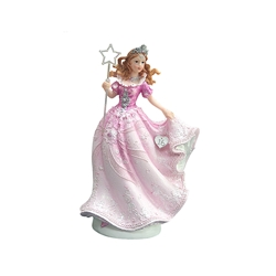 Mega Favors - Sweet 16 Lady Wearing Dress Holding Wand - Pink