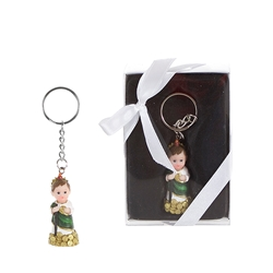 Mega Favors - Baby St. Judas Poly Resin Key Chain in Gift Box