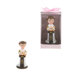 Mega Favors - Toddler Preaching Poly Resin in Designer Box - Pink